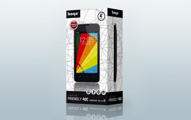 Teléfono libre Bogo Friendly 4DC dual SIM