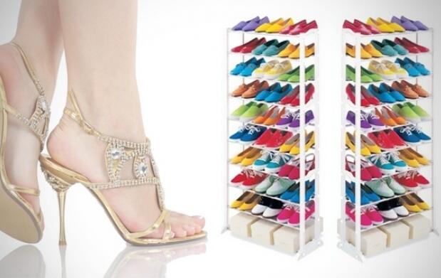 Organizador de zapatos para 30 pares