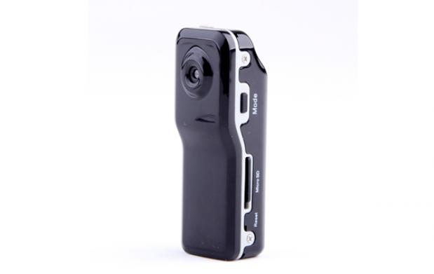 Mini-camara espia con accesorios