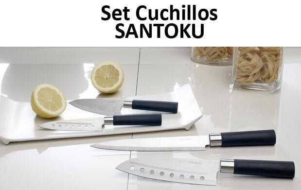 Set de Cuchillos Santoku