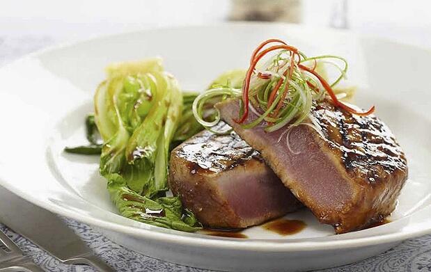 Menú degustación de atún de almadraba