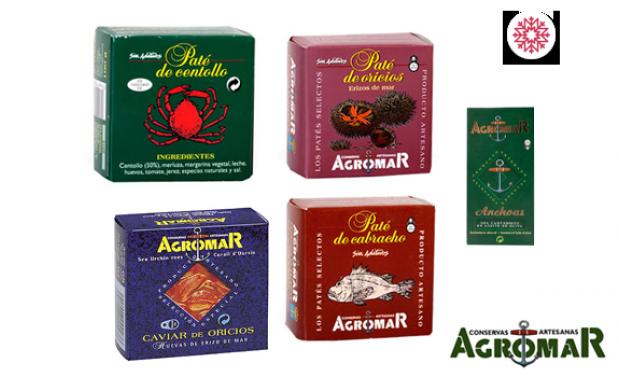 Lote de conservas Gourmet Agromar