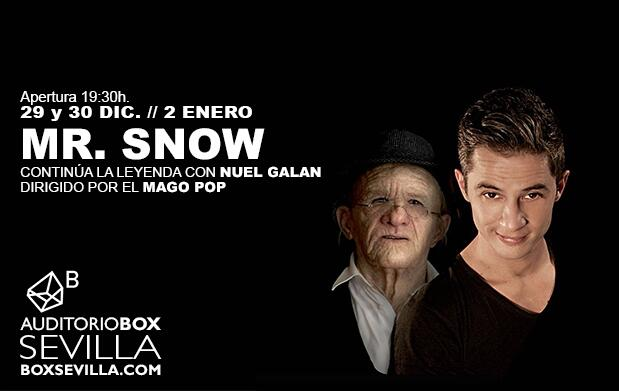 Magia con Mr. Snow