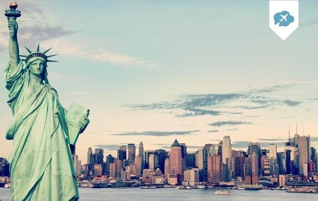 Nueva York:5-7 noches Vuelo+Hotel 3*