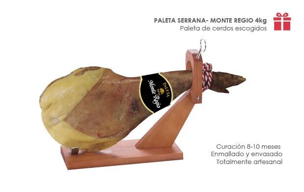 Paleta Serrana o Taco de Jamón+Cuchillos