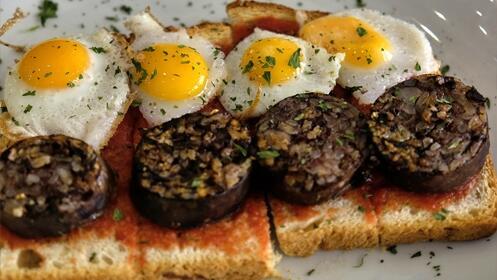 Menú de cocina mediterránea para 2