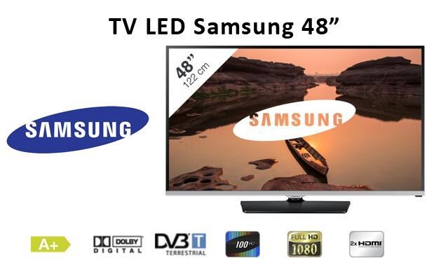 TV Samsung LED 48 Pulgadas FULLHD
