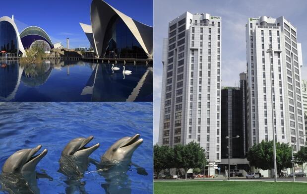 Valencia 3 días Hotel 4* + Oceanografic