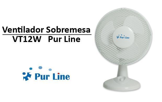 Ventilador de Sobremesa Pure Line