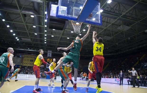 Baloncesto Sevilla-Guipuzcoa Basket