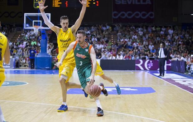 Último partido Baloncesto Sevilla