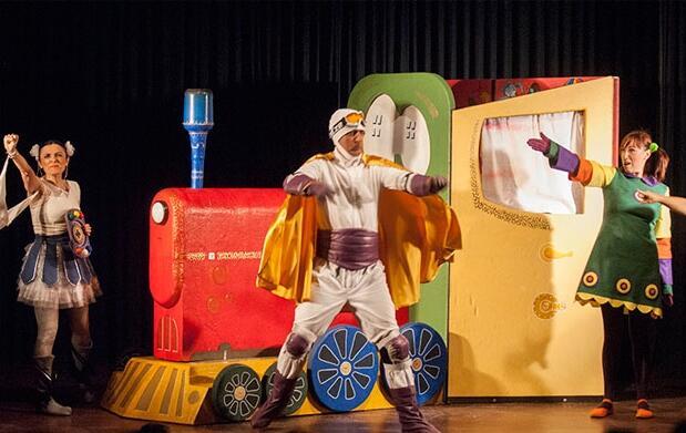 Teatro infantil Borrón y un mundo nuevo