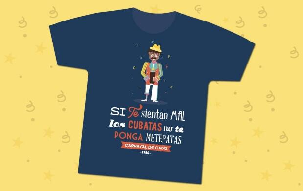 Las camisetas del carnaval