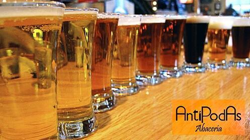 Cena maridaje con cervezas artesanas