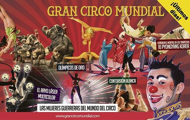 Gran Circo Mundial. Butaca VIP