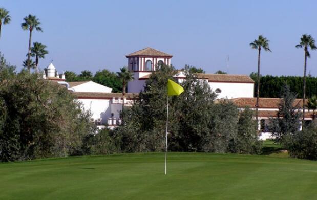 Curso de golf en Club Zaudin