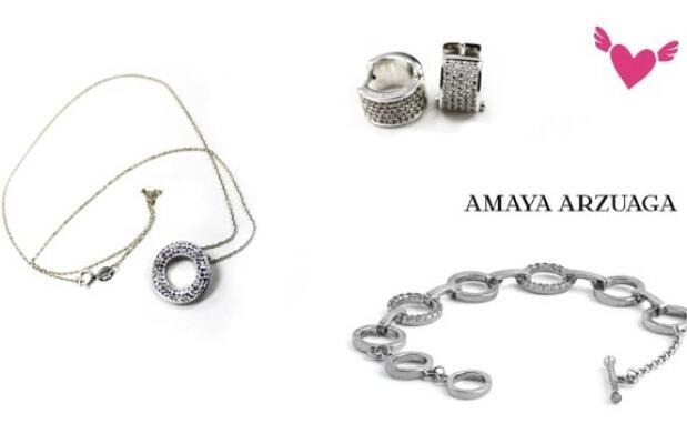 Conjunto de joyería de Amaya Arzuaga