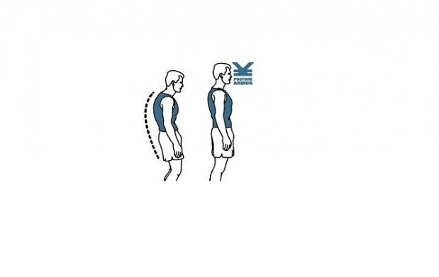 Corrector magnético de espalda