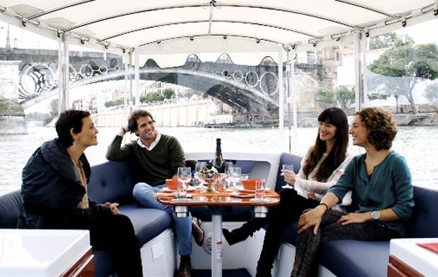 Disfruta Sevilla desde el Guadalquivir