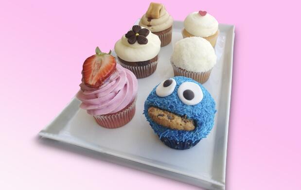 ¡Deliciosas y divertidas cupcakes!