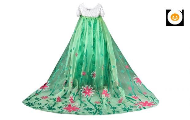 Disfraz princesa Elsa Frozen Fever