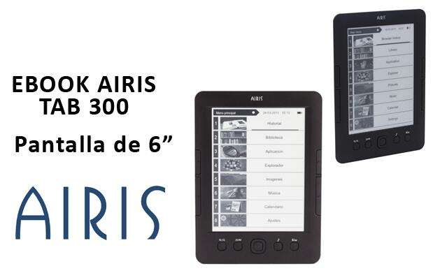 Ebook AIRIS TAB300 de 6 Pulgadas