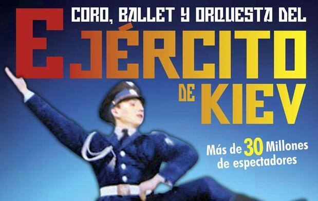 Coro, ballet y orquesta Ejército de Kiev