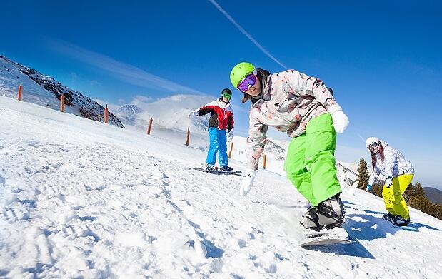 Clases particulares de esquí o snowboard