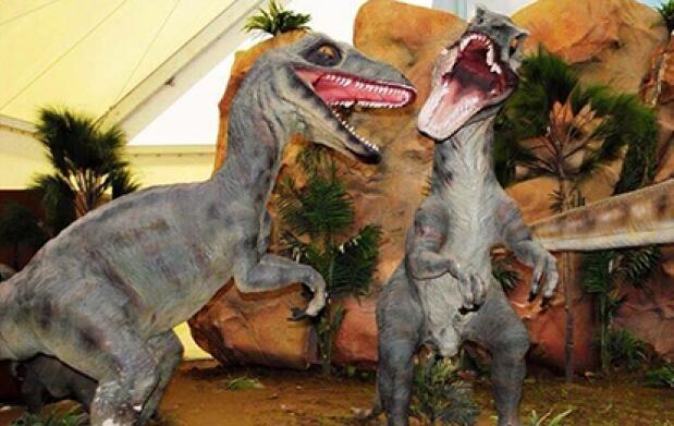 Expo Jurásico ¡Dinosaurios a tamaño real!