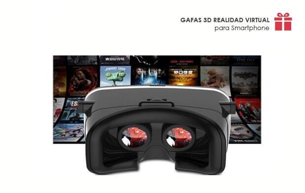 Gafas Realidad Virtual-3D para Smartphone