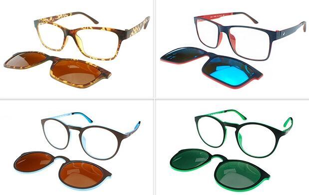 Gafas graduadas + lentes polarizadas