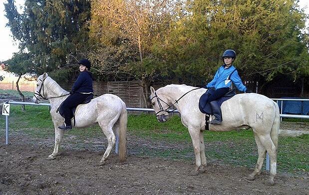 Paseo en pony o a caballo para niños