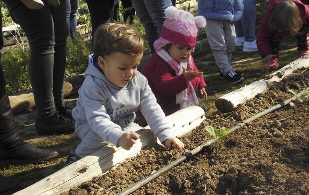 Domingo en familia en la granja