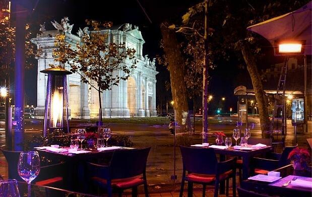 Madrid 5 *: noche con cena y spa para 2