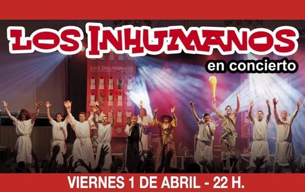 Los Inhumanos en concierto