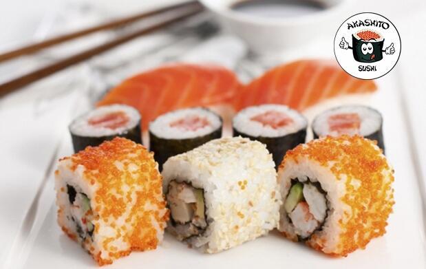 Menú japonés para 2
