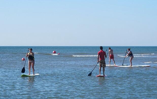 Deportes acuáticos en Isla Canela