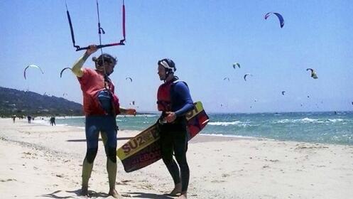 Kitesurf en Tarifa para dos