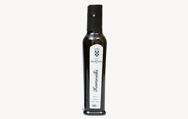 6 botellas gourmet de aceite virgen extra