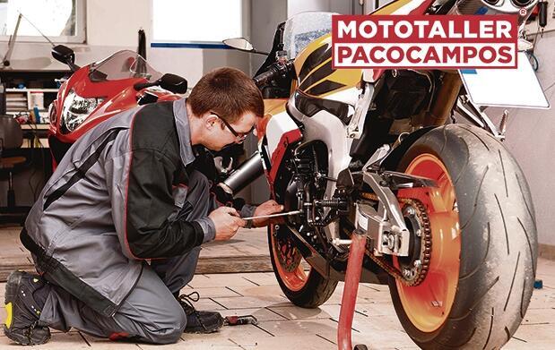 Moto: revisión pre-itv + cambio de aceite y filtro