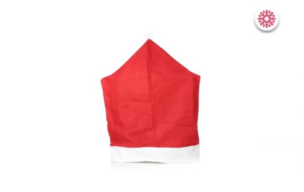 Pack de 6 o 12 fundas Papa Noel para sillas