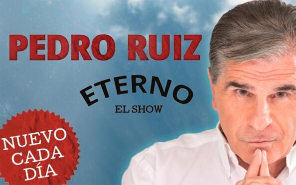 """""""Eterno"""" con Pedro Ruiz"""