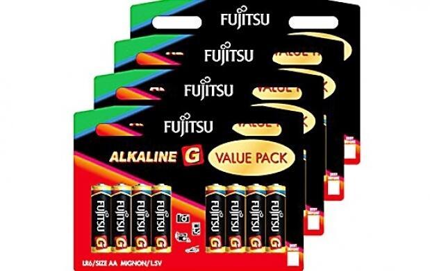80 pilas alcalinas Fujitsu
