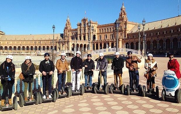 Paseo por Sevilla en Segway