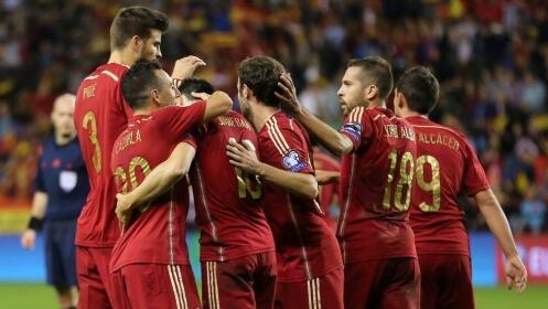 Camiseta réplica oficial España