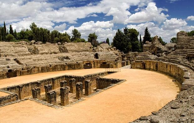 Visita guiada por las Ruinas de Itálica