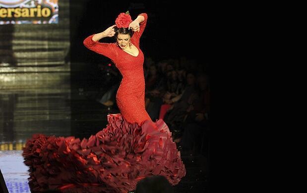 Vive la moda flamenca en SIMOF