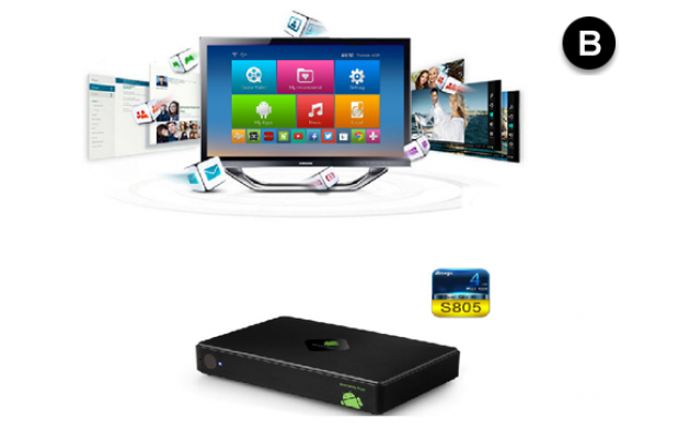 Smart TV Android quadcore A5 + mando