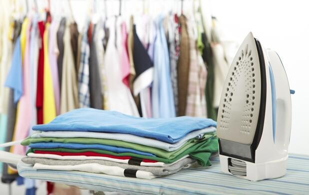 3 horas de limpieza doméstica y planchado