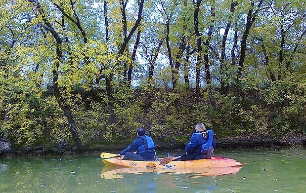 Ruta en canoa más almuerzo